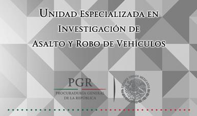 unidad especializada en investigaci243n de asalto y robo de