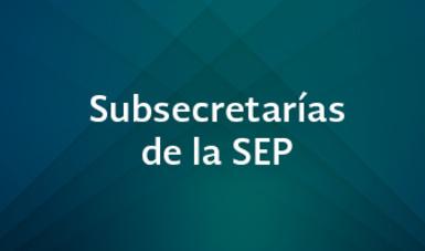 Subsecretarías