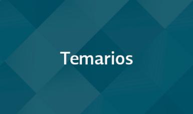 Temarios. Servicio Profesional de Carrera 2015