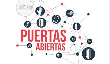 Logo de Puertas Abiertas.
