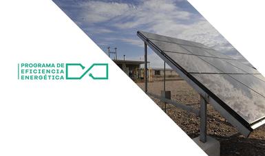 Programa de Eficiencia Energética, paneles solares.