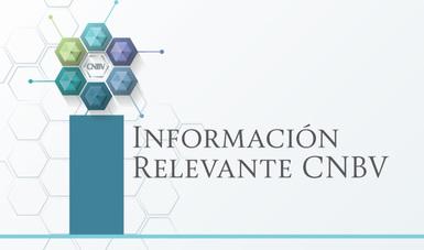 Información Relevante CNBV