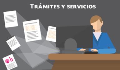 Infografía Trámites y Servicios.