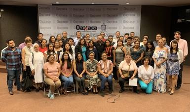 Jornada informativa con sociedad civil en materia de política exterior. Oaxaca, Oax.