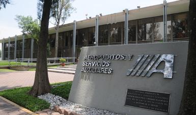 Edificio A, entrada principal de ASA