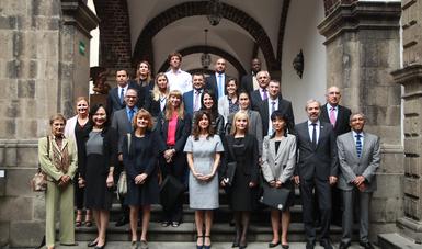 Curso de Política Exterior de México para diplomáticos extranjeros 2016