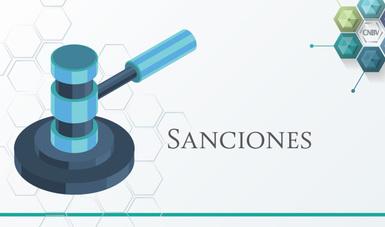 Sanciones Impuestas en la CNBV