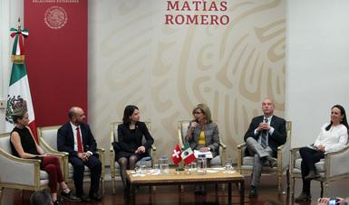 """Diálogo """"México-Suiza: Actualidad y nuevas perspectivas en política de drogas"""""""