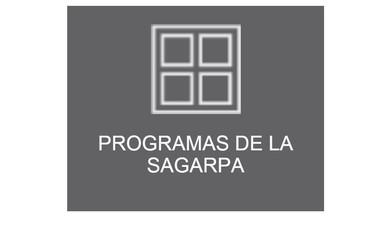 Programas administrados SAGARPA