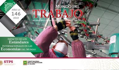 Portada de la Revista Mundo del Trabajo No. 146