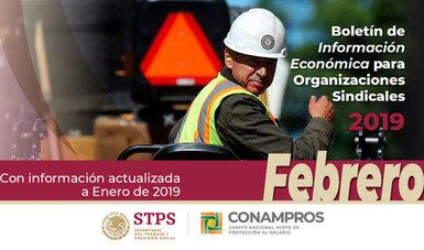 Portada Boletín Económico - Febrero 2019