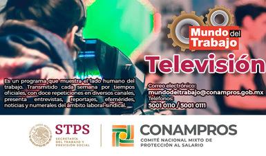 Banner programa de Televisión Mundo del Trabajo