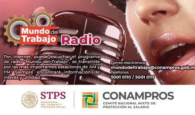 Banner del Programa de Radio Mundo del Trabajo