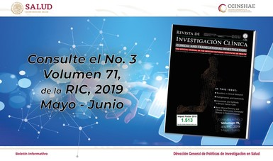 Boletín Informativo de la CCINSHAE 2019