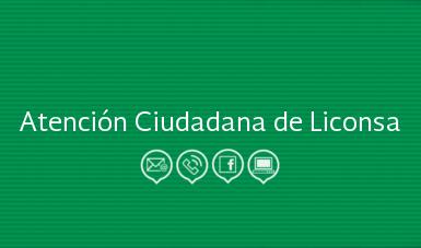 Atención Ciudadana De Liconsa Liconsa S A De C V