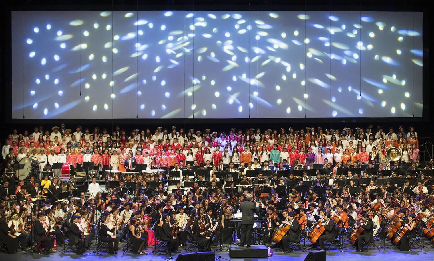 Movimiento Nacional de Agrupaciones Musicales Comunitarias. Foto. Fernando Aceves