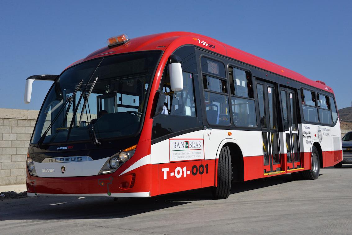 El Sistema Integral de Transporte Tijuana fue financiado por el Proyecto de Trasformación del Transporte Urbano (PTTU)