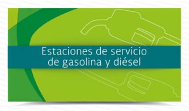 Estaciones de servicio de gasolina y diesel