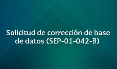 Preguntas frecuentes (SEP-01-042-B)