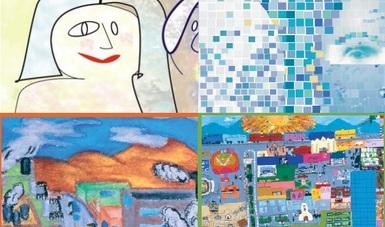 Collage con algunas de las portadas utilizadas en las ediciones de La situación demográfica de México.