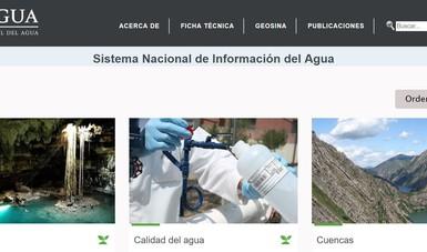SISTEMA NACIONAL DE INFORMACIÓN DEL AGUA (SINA).