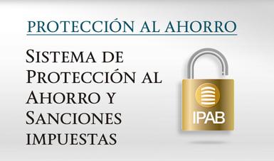 Sistema de Protección al Ahorro y Sanciones impuestas