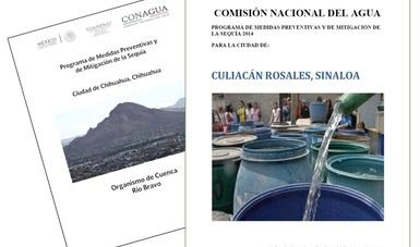 Programas de Medidas Preventivas y de Mitigación a la Sequía (PMPMS) para ciudades.