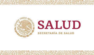 Logo de la Secretaría de Salud 2018-2024.