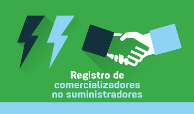 Registro de Comercializadores no Suministradores