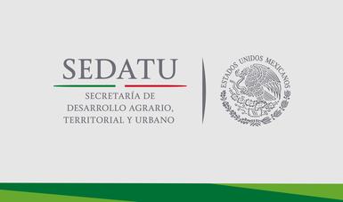 Logo de la SEDATU.