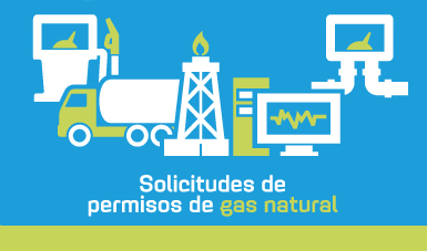 Solicitudes de permisos de Gas Natural