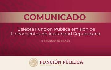 La secretaria Irma Eréndira Sandoval celebra emisión de lineamientos de Austeridad Republicana