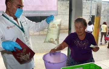 Inicia operaciones lechería Liconsa Santa Bárbara, en Cuautla