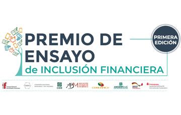 Participa en el Primer Premio de Ensayo de Inclusión Financiera