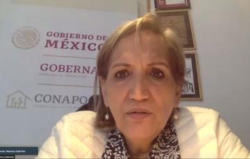 Gabriela Rodríguez Ramírez, Secretaria General del CONAPO.