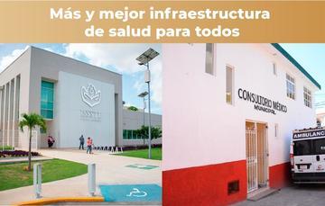 Históricamente, Banobras ha dotado de financiamiento a proyectos de infraestructura en salud, en las grandes ciudades y pequeñas comunidades.
