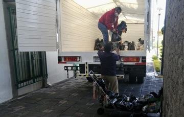 Arma Diconsa 400 paquetes alimenticios para municipio de Tlaxcala