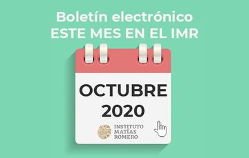 Este mes en el IMR (octubre 2020)