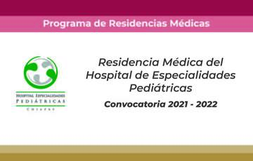 convocatoria residencia en pediatría