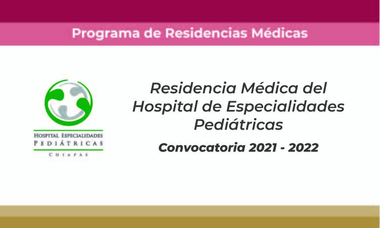 convocatoria residencia en pediatría