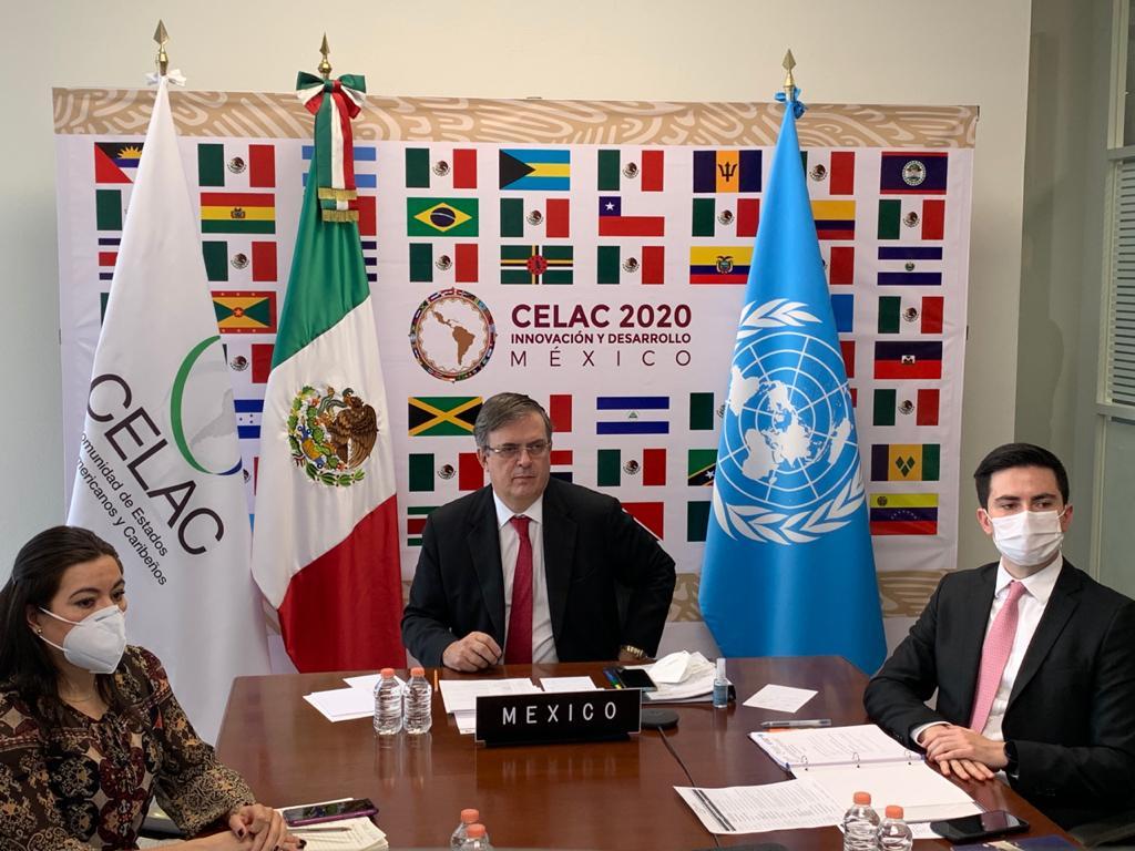 México mantendrá la Presidencia pro tempore de la Comunidad de Estados Latinoamericanos y Caribeños en el año 2021