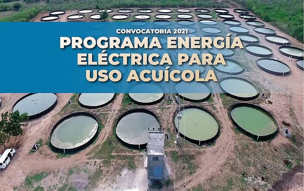 Apoyo de cuota de energía eléctrica para instalaciones acuícolas