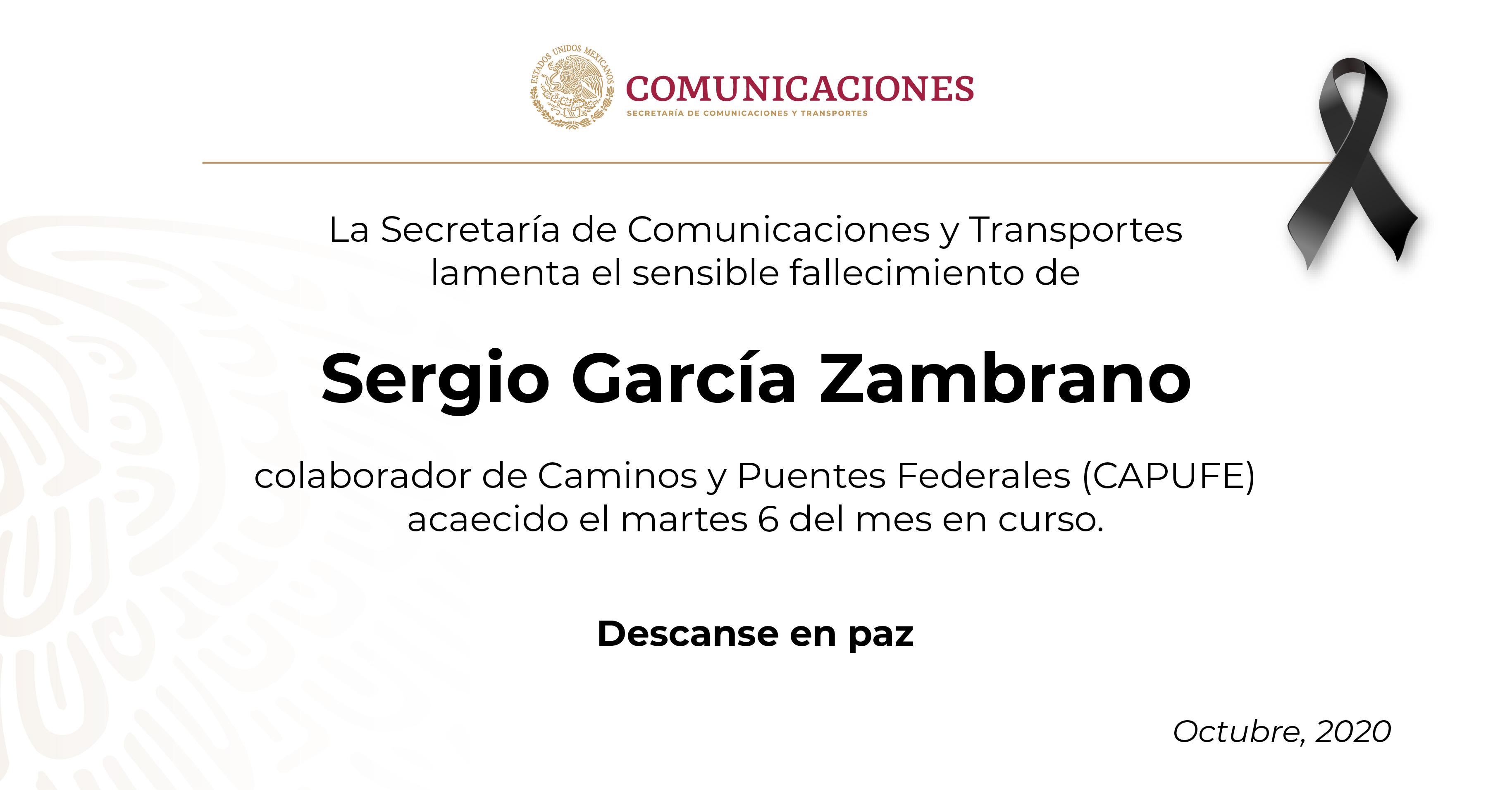 Sergio García Zambrano