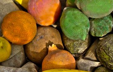 frutas para el ponche.