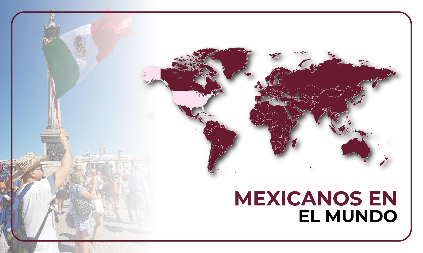 Mexicanos en el mundo