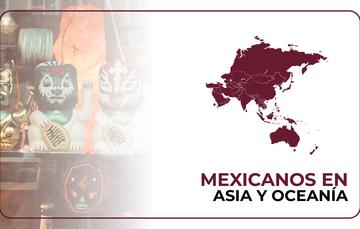 Mexicanos en Asia y Oceanía