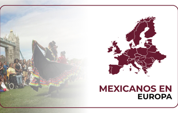 Mexicanos en Europa