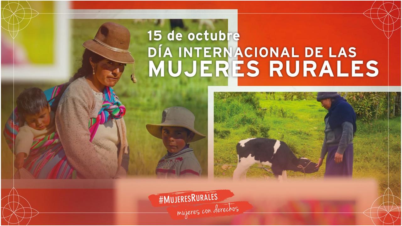 Mujeres rurales, indígenas y afrodescendientes: Agentes claves para estrategias efectivas de recuperación post-pandemia.