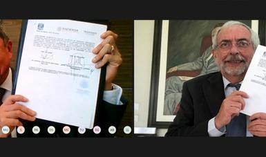 FIRMAN ALIANZA ESTRATÉGICA UNAM E INDAABIN PARA EFICIENTAR LA ADMINISTRACIÓN PÚBLICA
