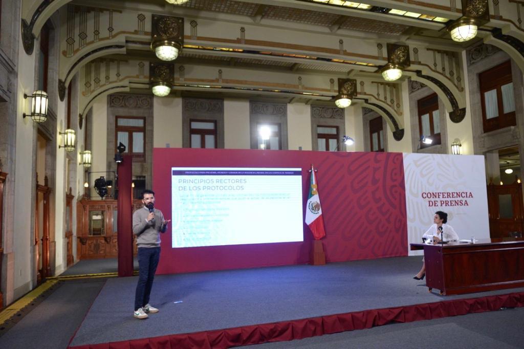 Protocolo para Prevenir, Atender y Erradicar la Violencia Laboral   Conferencias sobre Programas del Bienestar
